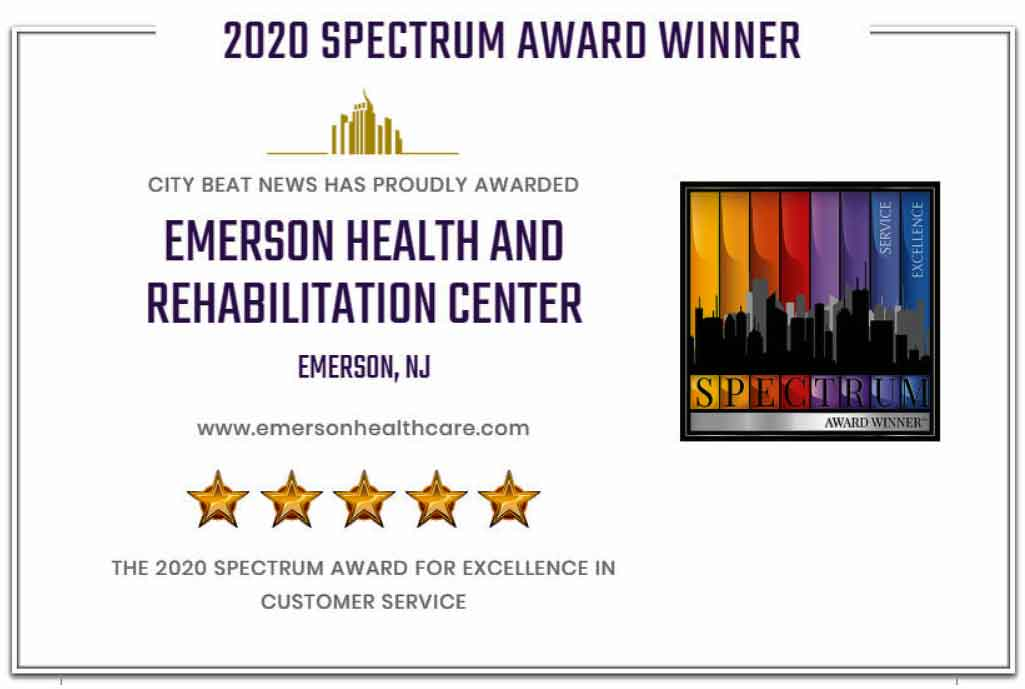 Spectrum Award for excellence in customer satisfaction