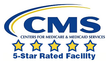 CMS 5-star rated facility