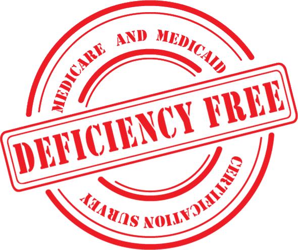 deficiency free NJ nursing home