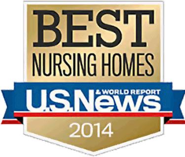 U.S. News & World Report Best Nursing Homes 2014
